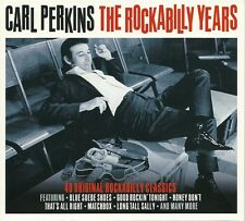 CARL PERKINS THE ROCKABILLY YEARS - 2 CD BOX SET 40 ORIGINAL ROCKABILLY CLASSICS