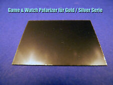 * polarisator polarizer-para Nintendo Game & Watch-Gold/Silver serie *