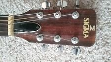 1970s Sigma Martin DM-5 acoustic guitar NATURAL FINISH Made in Japan mahogany