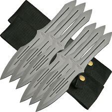 """6pc Rite Edge 10"""" Pro Quality Throwing Knife Set -Throwers Knives Speed Accuracy"""