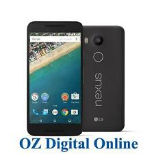 "NEW LG Google Nexus 5X 32GB 4G LTE 12.3MP 5.2"" Black Next G Unlocked Phone"