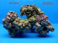 LIVE ROCK CORAL REEF TZ-H301 IMITATION POLYRESIN AQUARIUM DECOR FRESH OR SALT