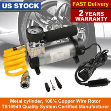 Portable 12V Air Compressor Electric Car Auto Inflator pump 150PSI Heavy Duty