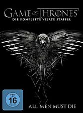 GAME OF THRONES, Staffel 4 (5 DVDs) NEU+OVP Schuber OHNE FSK-Logo!