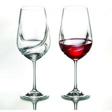 Turbulence 550ml Crystal Wine Glasses - Set of Two - Glassware Bohemia