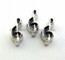 10pcs Music Notation Floating charms For Glass living memory Locket FC0640