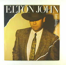 "12"" LP - Elton John - Breaking Hearts - C 1200 - washed & cleaned"