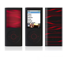 BELKIN Infrared Black Silicone Skin Case for iPod Nano 4th Gen Red Laser Etching