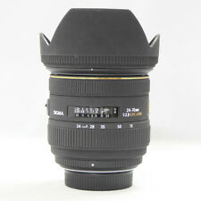 Used Sigma DG 24-70mm F/2.8 HSM EX DG IF ASP Lens For Nikon