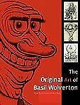 Original Art Basil Wolverton Illustration caricature cartooning comics drawing