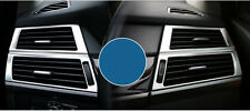For 2009-2013 BMW X5 X6  Interior side air condition vent cover trim Steel frame