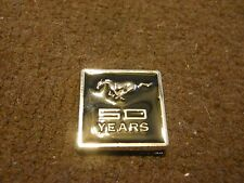 2014 FORD MUSTANG 50TH ANNIVERSARY RUNNING HORSE LOGO METAL EMBLEM BADGE NICE