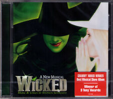 WICKED Original Broadway Cast Musical STEPHEN SCHWARZ Chenoweth Idina Menzel CD