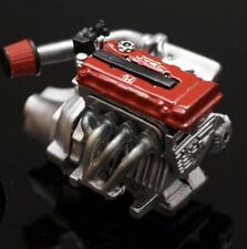 1/24 Resin Honda B18-B16 Engine Racing Exhaust (Tamiya Aoshima Fujimi)