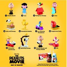 2015 NEW McDONALDS PEANUTS MOVIE SET LOT OF Three 1ct- #10, #11, #12 SNOOPY FIFI