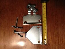 "1 pr LARGE ROLLEASE Roller Shade R16 EXTENSION CLUTCH BRACKETS ~ 5/8"" Tab #S78F"