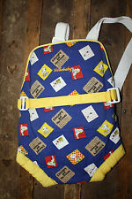 Vintage Hellobaby Snoopy and His Friends Peanuts Infant Baby Carrier