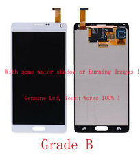 B White For Samsung Galaxy Note 4 N910A N910T LCD Screen + Touch Digitizer Glass