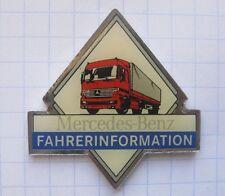 Mercedes-Benz/fahrerinfomation... Truck/auto pin (113k)