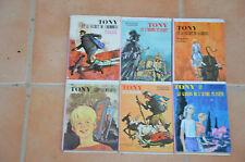 LOT 6 livres série TONY - Collection la BIBLIOTHEQUE ROSE