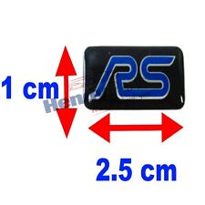 ¡ Nuevo! Original Ford Focus Rs Mini Rueda Insignia Sticker Emblema 100% Original Ford