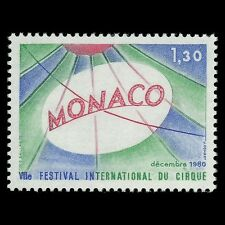 Monaco 1980 - 7th International Circus Festival Monaco Art - Sc 1249 MNH