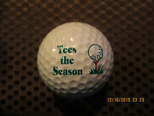 LOGO GOLF BALL-TEES THE SEASON.........GOLF..........CHRISTMAS