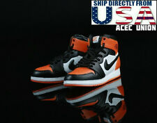1/6 Men Shoes Nike Air Style ORANGE For Hot Toys Phicen Male Figure USA SELLER
