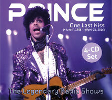 PRINCE One Last Kiss (Live Radio Broadcast 1985-1998) - Digipak-4CD - 734006