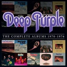 Deep Purple 1970 - 1976 Complete Album 10 CDs BOX SET NEW SEALED Free Shipping!
