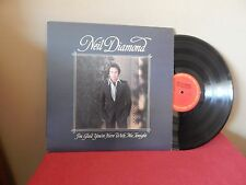 "NEIL DIAMOND : I'M GLAD YOU'RE HERE WITH ME TONIGHT     12""   33 RPM  LP"