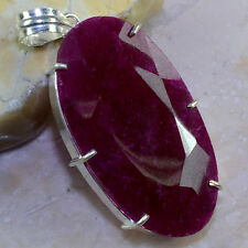 "FREE SHIPPING CHERRY RUBY PENDANT 2 3/4"",21 GRAMS; K3371"