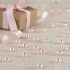 Pretty Pink Vintage Pearl Wedding Scatter / Confetti - Table Decoration -