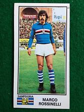 CALCIATORI 1974-75 74-1975 n 433 SAMPDORIA ROSSINELLI , Figurina Panini NEW