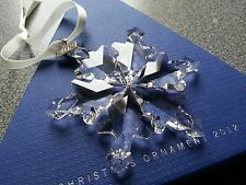 Swarovski 2012 Christmas/X-mas Ornament/Snowflake, Complete/Perfect !!!
