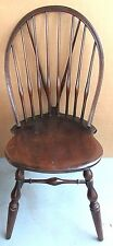 Antique Vintage B & S Co Solid Wood Bowback Windsor Accent CHAIR