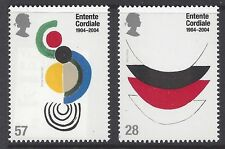 Great Britain 2004 Entente Cordiale Painting  Stamp Set