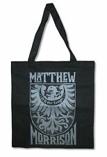 Matthew Morrison Crest Still Got Tonight Black Tote Bag New Official Glee Music