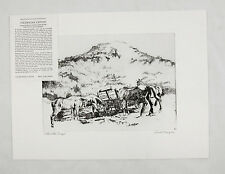 Vintage 1960's Lionel Barrymore Coldwater Canyon Talio Chrome Print