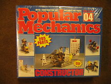 Vintage 1993 Popular Mechanics Metal Constructor Set #4 - Eitech - new sealed