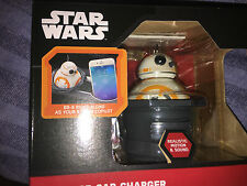 Star wars  the force awakens  BB-8    usb car charger