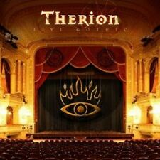 "THERION ""LIVE GOTHIC"" 2 CD+DVD SYMPHONIC METAL NEW+"