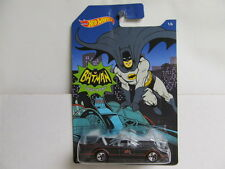 Hot Wheels 2015 Walmart Exclusive Batman Series Flat Black TV Series Batmobile