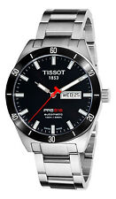 T0444302105100 Tissot PRS 516 Black Dial Stainless Steel Auto Mens Watch
