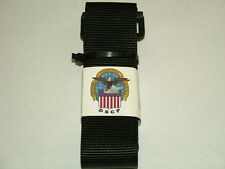"US ARMY UNIFORM BLACK 2"" NYLON BDU RIGGERS BELT 8415-01-480-0465"