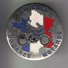 RARE PINS PIN'S .. POLICE NATIONALE DOUANES CUSTOMS ZOLL MOTO BMW TEAM ~C3