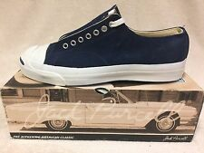 CONVERSE JACK PURCELL LOW - VINTAGE BLUE SUEDE SHOES - MIB - MADE IN USA - sz 11