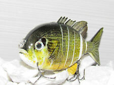 4 '' 6 multisection 1.2oz natural  bluegill color  hard sunfish  swimbait