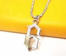 Anime Bleach 6 Blade Grimmjow Jeagerjaques Metal Necklace pandent