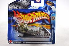 HotWheels 2003 No: 162 FRIGHT Motorcycle BIKE WASTELANDERS Mint on Sealed Card